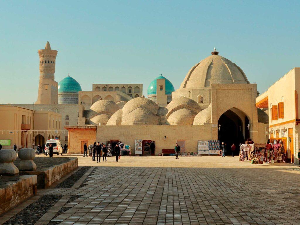 Trade-domes bukhara