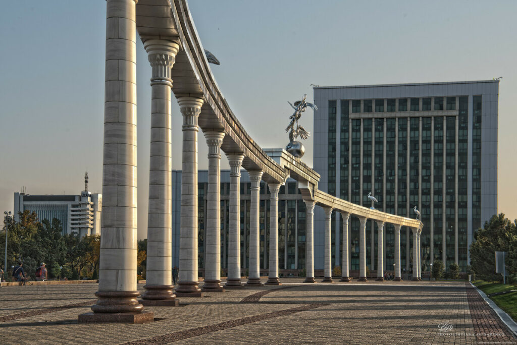 Tashkent independance square