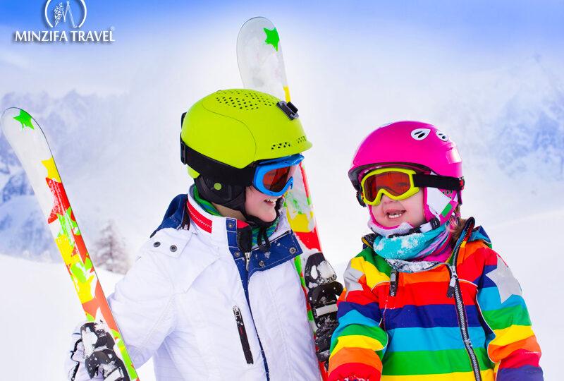 Skiing is very Healthy!